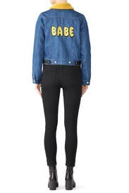 Babe Denim Jacket by Samantha Sipos
