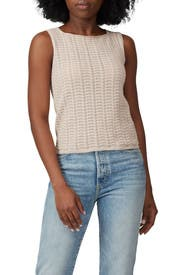 Crochet Shell Top by Theory