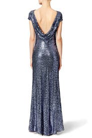 Crisp Evening Gown by Badgley Mischka