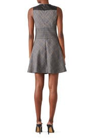 Plaid Corset Waist Dress by Derek Lam 10 Crosby