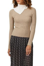 High Neck Sweater by See by Chloe
