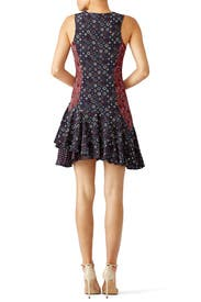 Medallion Print Silk Dress by Derek Lam 10 Crosby