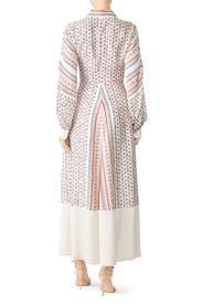Scarf Print Midi Dress by Philosophy di Lorenzo Serafini