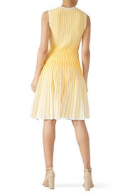 Yellow Larina Dress by Shoshanna