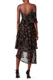 Ruffled Flower Dress by Jason Wu Collection