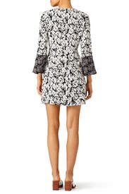Leopard Print Bell Sleeve Dress by Derek Lam 10 Crosby