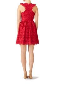 Red Kinsley Dress by nha khanh
