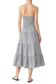 Striped Strapless Dress by RACHEL ROY COLLECTION
