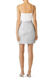 Shiny Tight Skirt by Carven