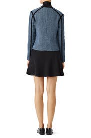 Blue Cardigan Jacket by Derek Lam 10 Crosby