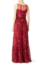 Floral Wisteria Gown by Marchesa Notte