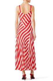 Red Striped Maxi by Jill Jill Stuart