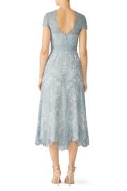 Blue Lace Miya Dress by CATHERINE DEANE
