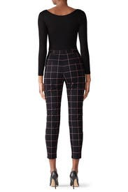 Check Techno Pants by Milly
