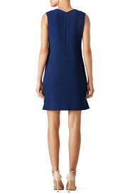 Embroidered Sophia Shift Dress by Tory Burch