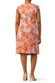 Summer Toile Sheath by Adrianna Papell