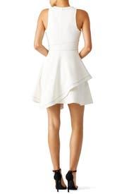 White Lyla Dress by Cinq à Sept
