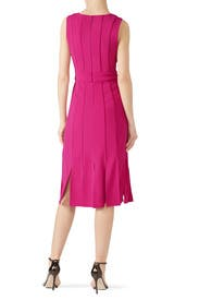 Magenta Day Dress by Badgley Mischka