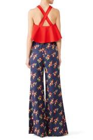 Floral Flare Pants by Jill Jill Stuart