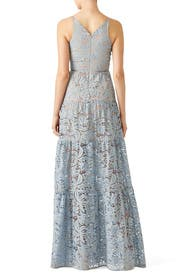 Blue Melina Lace Maxi by Dress The Population