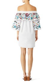 White Cathy Dress by Parker