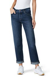 The Niki Boyfriend Turn Up Cuff Jeans by Joe's Jeans