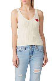 Heart Sweater Top by Polo Ralph Lauren