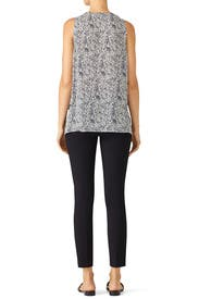 Tiered Floral Top by Derek Lam 10 Crosby