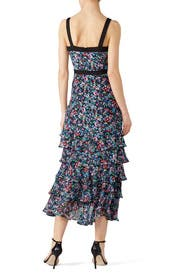 Jewel Rosette Lana Dress by SALONI