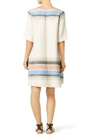 Sunny Desert Striped Dress by Suno
