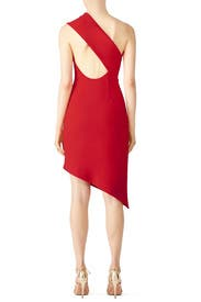 Red Goodbye Dress by FINDERS KEEPERS