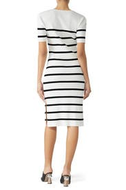 Striped Henley Dress by Slate & Willow