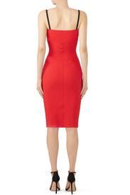 Red Meghana Dress by La Petite Robe di Chiara Boni