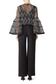 Sheer Lace Janice Top by Alexis