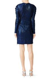 Metallic Wrap Dress by Jonathan Simkhai