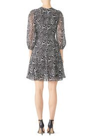 Zebra Print Dress by DEREK LAM