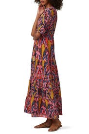 Printed Kalila Maxi by Figue