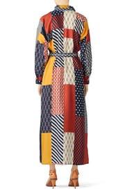 Geometric Bianca Dress by Tory Burch