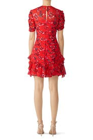 Floral Clusters Carti Dress by Tanya Taylor