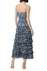 Ruffled Viola Dress by AMUR
