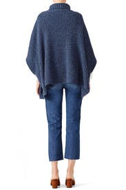 Navy Serina Sweater by Rebecca Minkoff