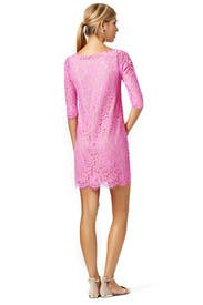 Peony Lace Shift by Robert Rodriguez Collection