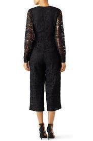 Black Cicily Jumpsuit by TULAROSA