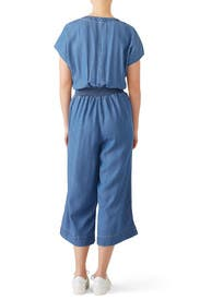 Chambray Tie Jumpsuit by Splendid