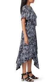 Short Sleeve Draped Dress by Proenza Schouler