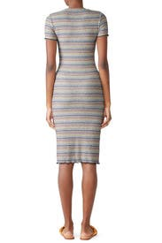 Striped T-Shirt Dress by Sundry