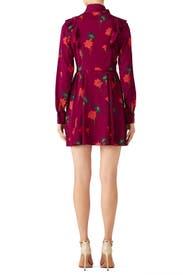 Plum Aubree Dress by Tanya Taylor
