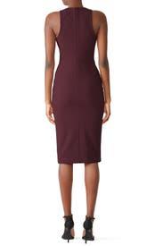 Plum Piper Dress by Cinq à Sept