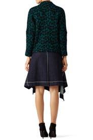 Denim Asymmetrical Skirt by Marni