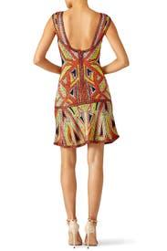 Danika Geometric Dress by Hervé Léger